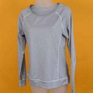 New Craft Women sweatshirt sz XS gray lightweight